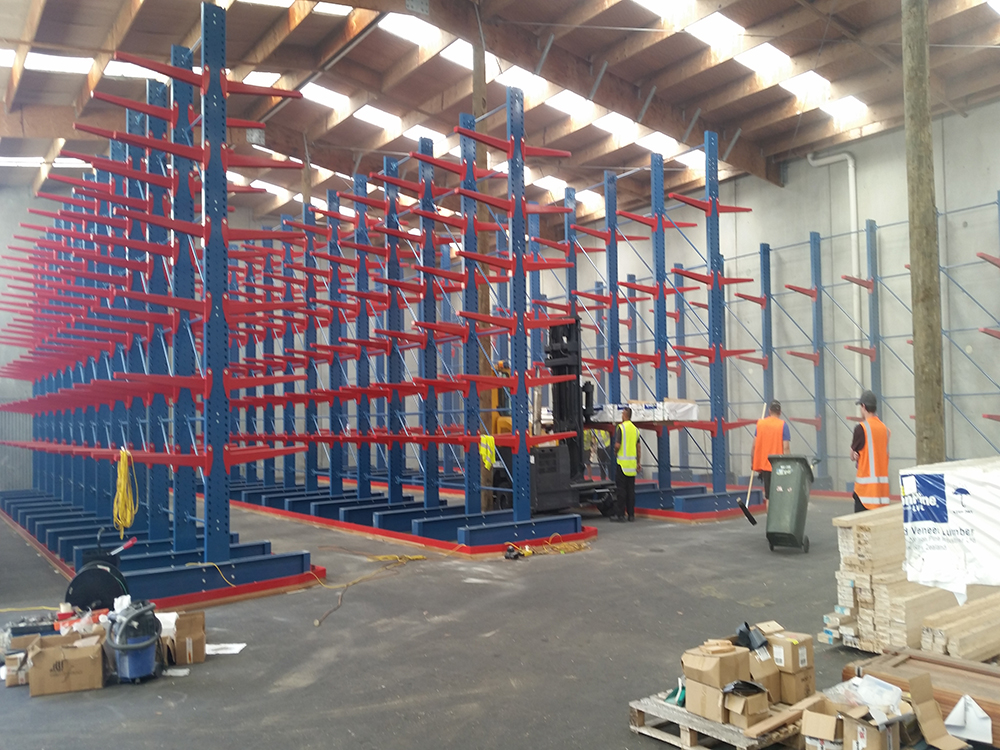 Cantilever Racking Novalok New Zealand Storage
