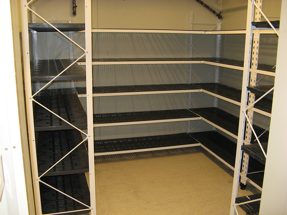 freezer shelving systems
