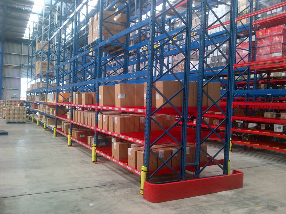 Racking Protection Systems Novalok New Zealand Storage